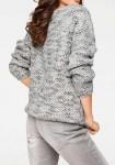 Trumpas pilkas megztinis