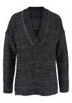 Juodas Tamaris megztinis