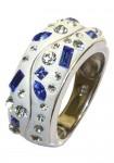 """Sidabro žiedas """"Blue"""""""