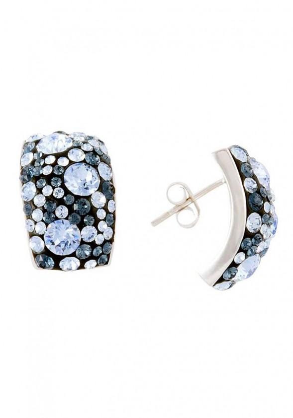 Mėlyni sidabro auskarai