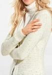 Ilgas šviesus megztinis
