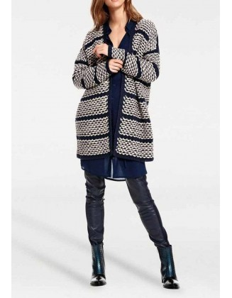 "Ilgas megztinis ""Navy"""