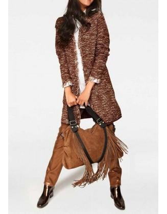 "Rudas megztinis ""Terracotta"""