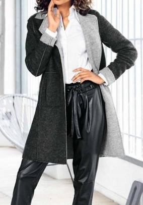 Išverčiamas paltas su vilna. Liko 34 dydis