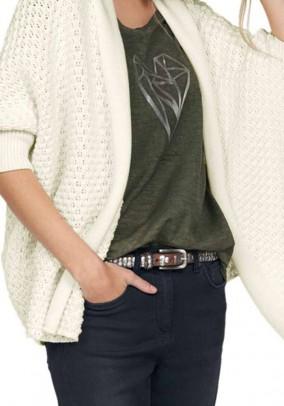 ARQUEONAUTAS baltas megztinis