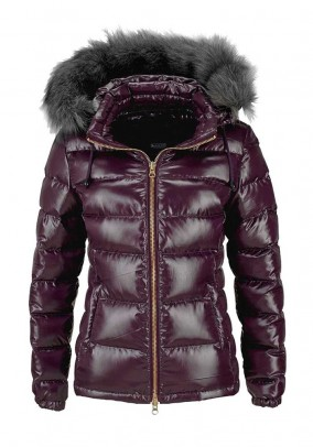 Down jacket, bordeaux