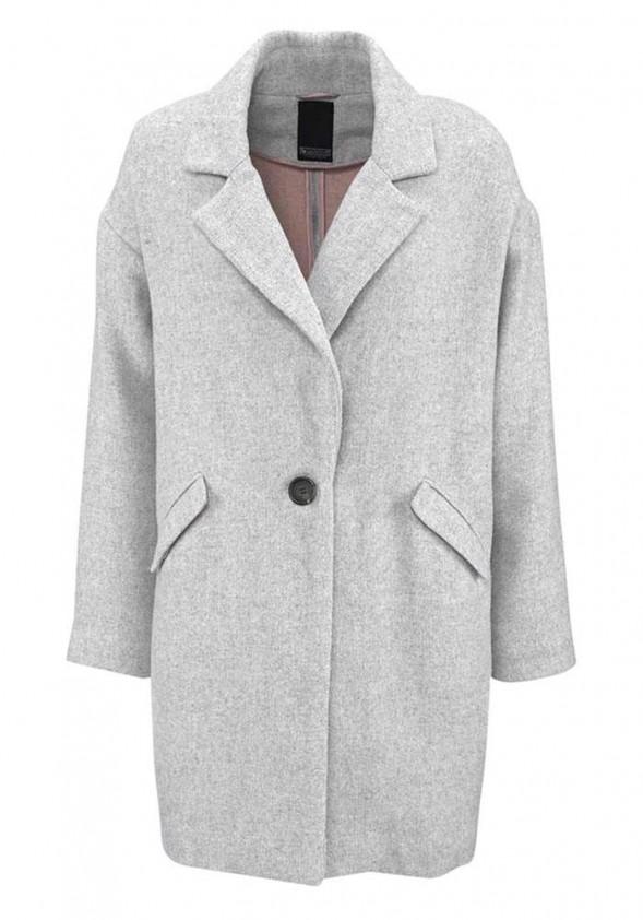 Pilkas paltukas - švarkas su vilna
