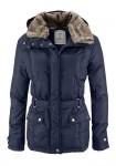 Mėlyna žieminė striukė
