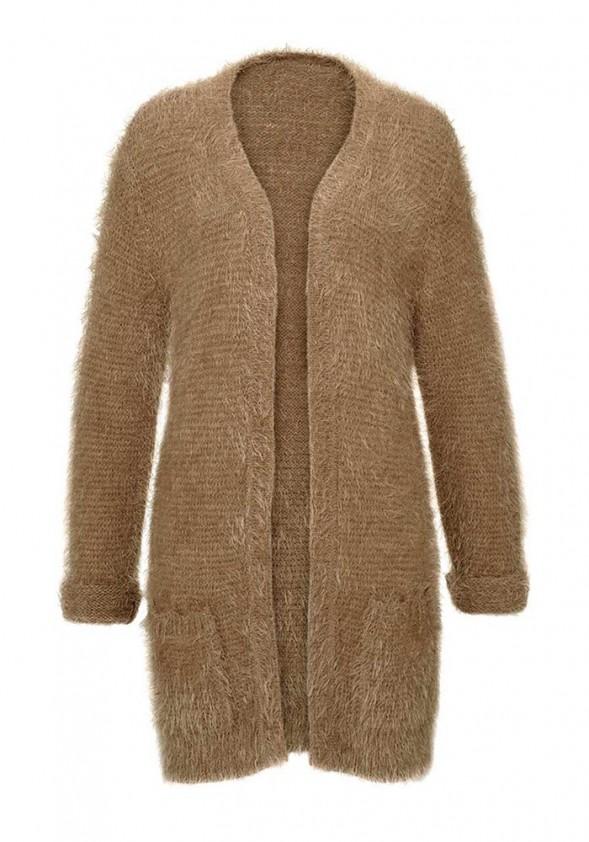 """Pūkuotas megztinis """"Camel"""""""