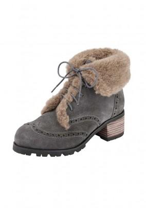 Pilki žieminiai batai