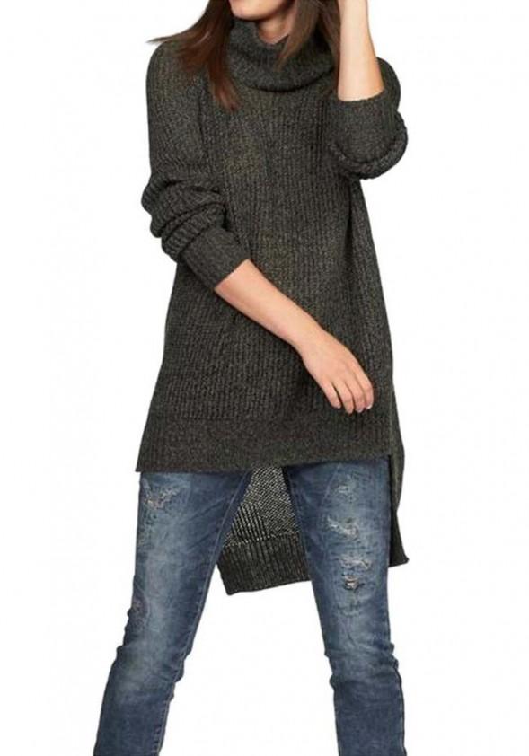 Asimetrinis chaki megztinis
