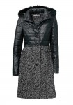 Stilingas juodas paltas