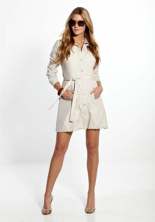 Marškinių stiliaus suknelė - marškiniai