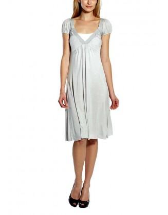 Šviesiai pilka suknelė
