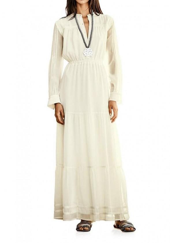 Ilga balta suknelė (ilgesnė)