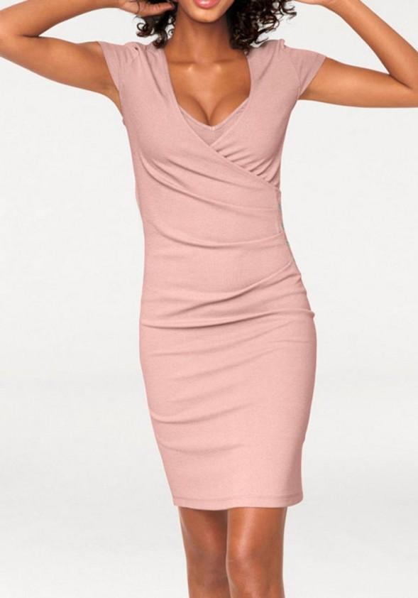 Kūno linijas formuojanti suknelė