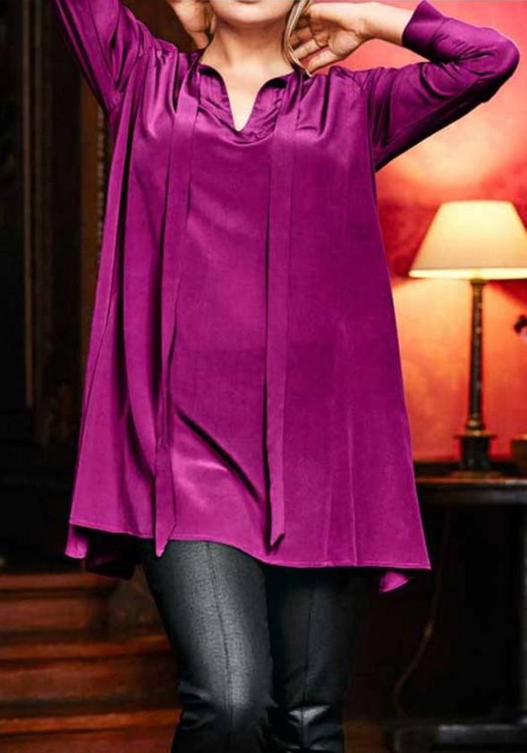 Long blouse, pink
