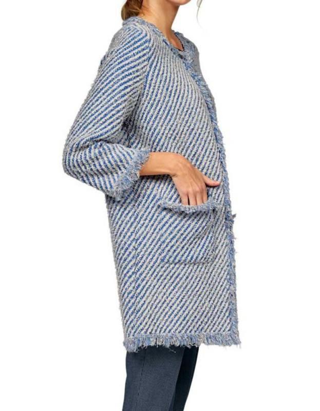 STEFANEL plonas paltukas