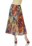 Ilgas rudens spalvų sijonas