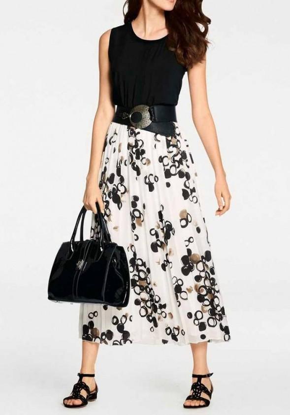 Ilgas baltas sijonas