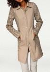 Ekstravagantiškas odinis paltukas