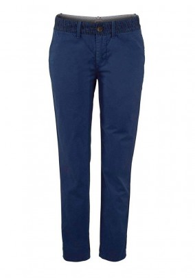 Brand chino trousers, blue