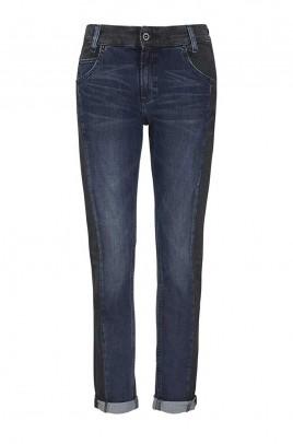Boyfriend jeans, blue-black, 30inch