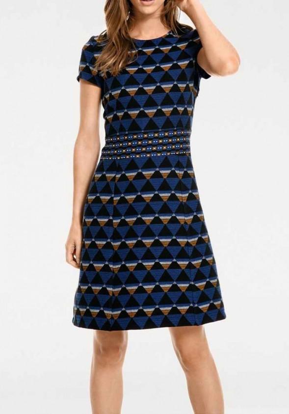 Originali mėlyna suknelė