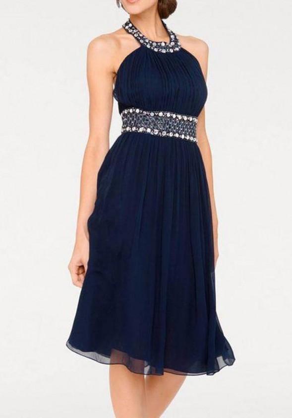 Šilkinė vakarinė suknelė. Liko 42 dydis