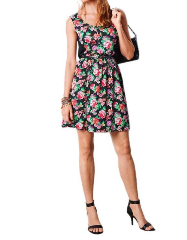 Spalvinga vasarinė suknelė