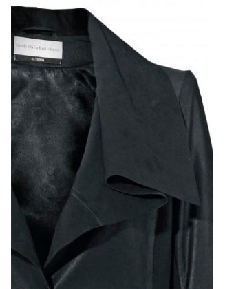 Juodas odinis paltukas