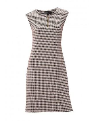 Suknelė su ornamentiniu raštu