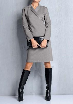 Originali pilka suknelė