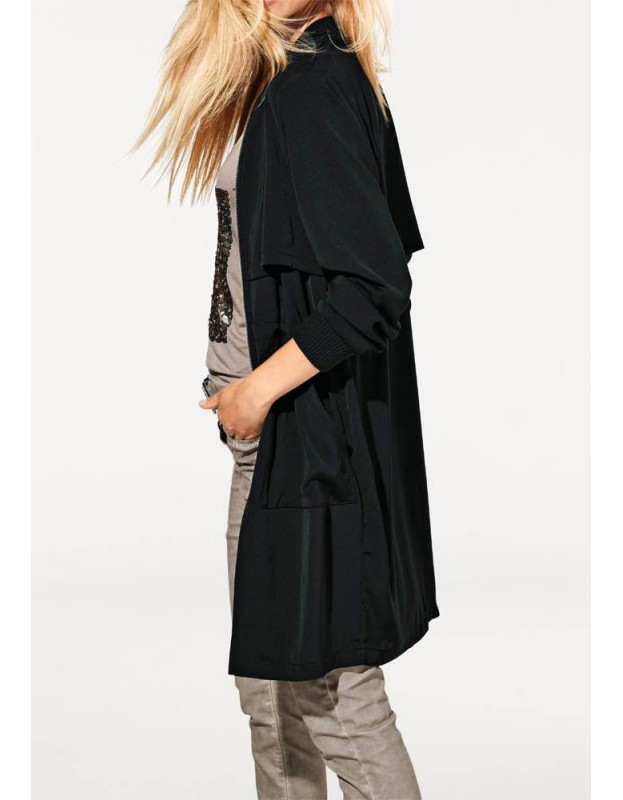 Plonas juodas paltukas