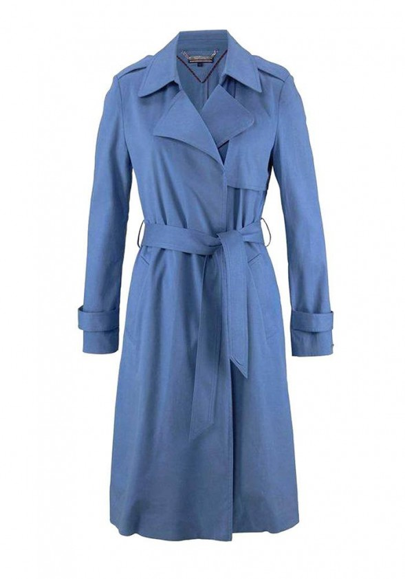 Mėlynas Tommy Hilfiger paltas
