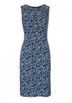 Aptempta mėlyna suknelė