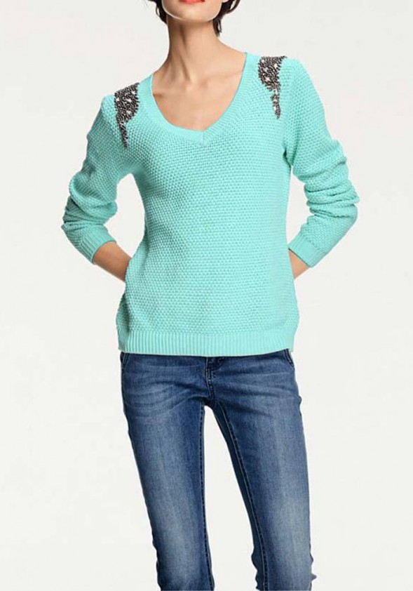 Dekoruotas megztinis