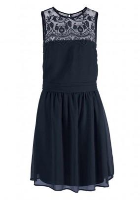 Tamsiai mėlyna VERO MODA suknelė