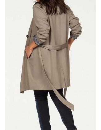 """Klasikinis paltas """"Taupe"""""""