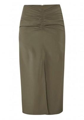 Skirt, olive