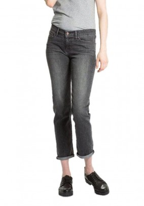 Women's jeans, used grey, 34inch