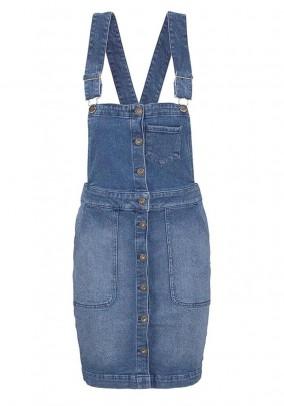 Jeans dress, blue