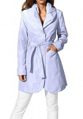 Šviesiai mėlynas paltas