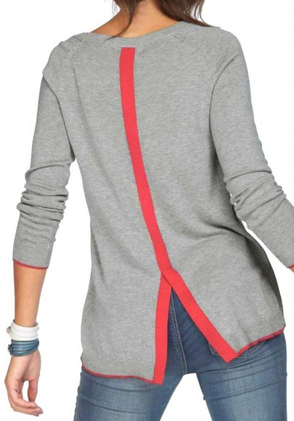 Pilkas AJC megztinis