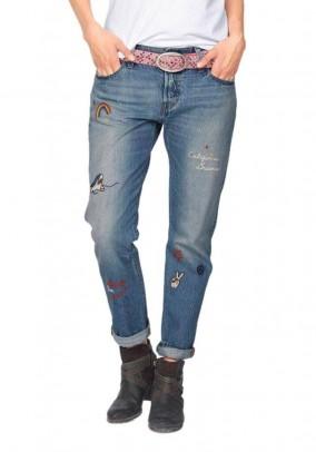 Boyfriend style jeans, light blue, 34inch
