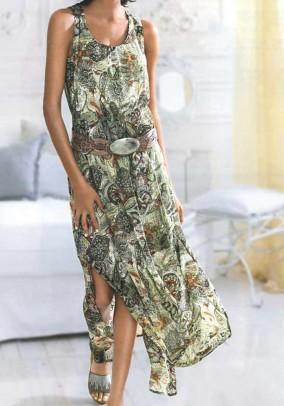 Maxi dress, khaki
