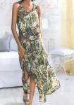 Ilga žalia suknelė