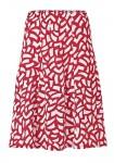 Margas raudonas sijonas