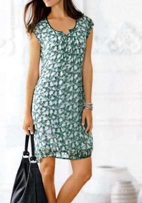 Žalia vasarinė suknelė. Liko 40 dydis