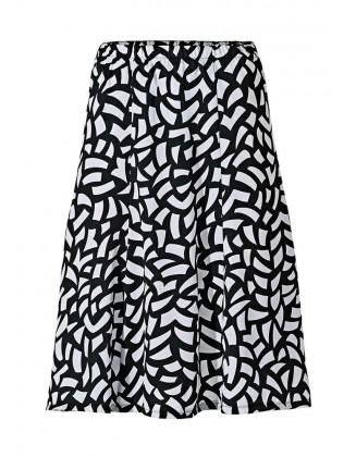 Margas juodas sijonas